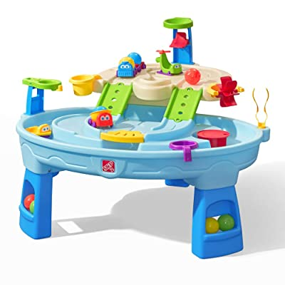 Step2 Ball Buddies Adventure Center Water Table   Water & Activity Play Table, Blue, (Model: 400500): Toys & Games