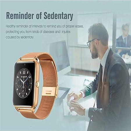 LARDOO Reloj Inteligente GT08 Plus Correa de Metal Bluetooth ...