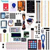iduino UNO Starter Kit for Arduino with Tutorial Projects Accessories Compatible with Arduino Mega2560 R3 and Nano