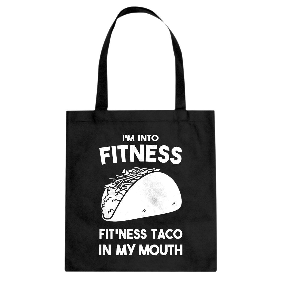 Indica Plateau Fitness Taco Cotton Canvas Tote Bag