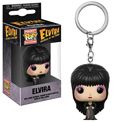 Funko Pop! Elvira Mistress of The Dark - Keychain Elvira