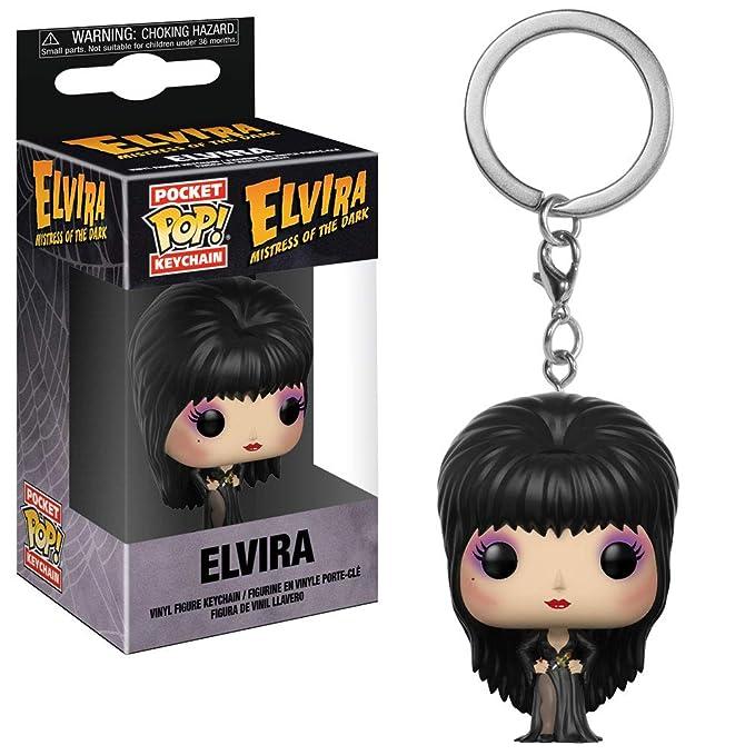 Funko Pop Keychain: Horror - Elvira Collectible Figure, Multicolor