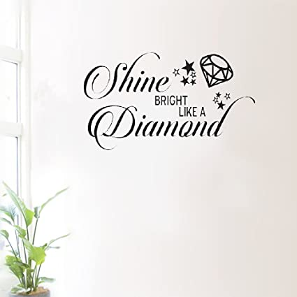 Amazoncom Decorative Wall Stickers Removable Wall Sticker Quotes