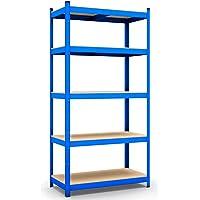 Opbergrekken B223 B224 B225 B226 200x100x50cm blau, 875kg blauw