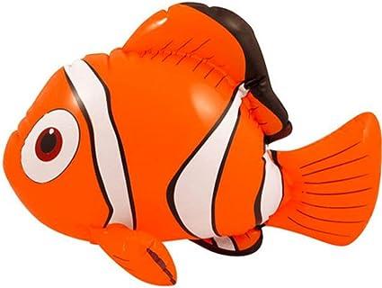 Amazon.com: 45 cm Nemo Pez Payaso inflable por Partyrama ...