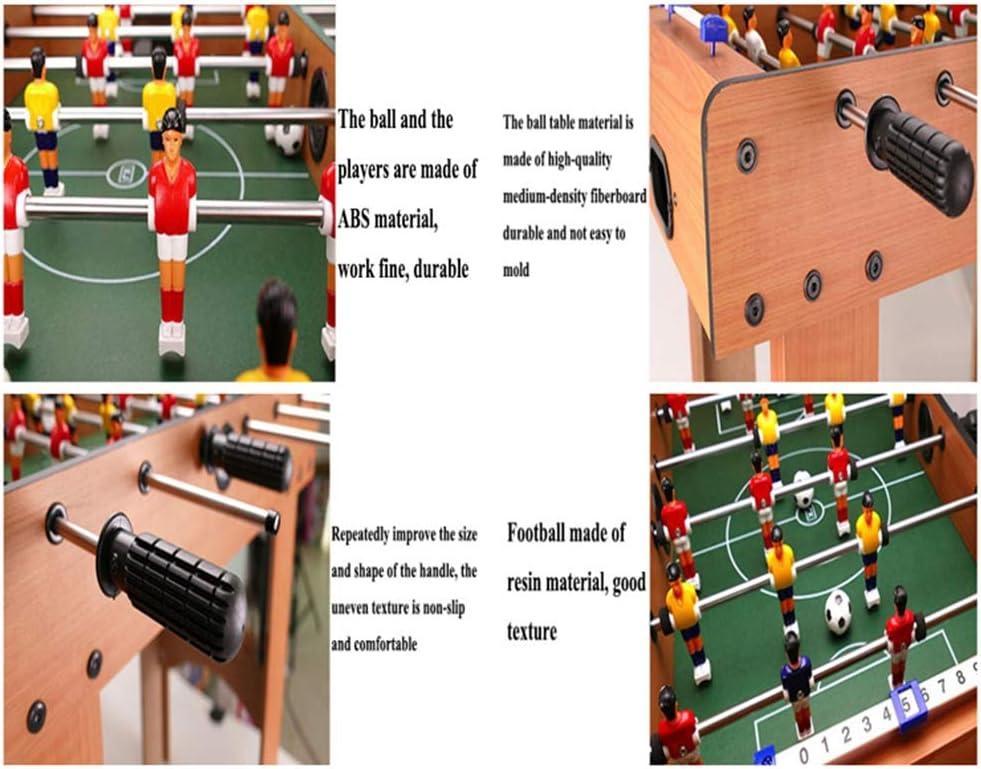 Lcyy-game Futbolín fútbol Sala de Juegos Juego de Mesa Superior de Deportes con piernas: Amazon.es: Hogar
