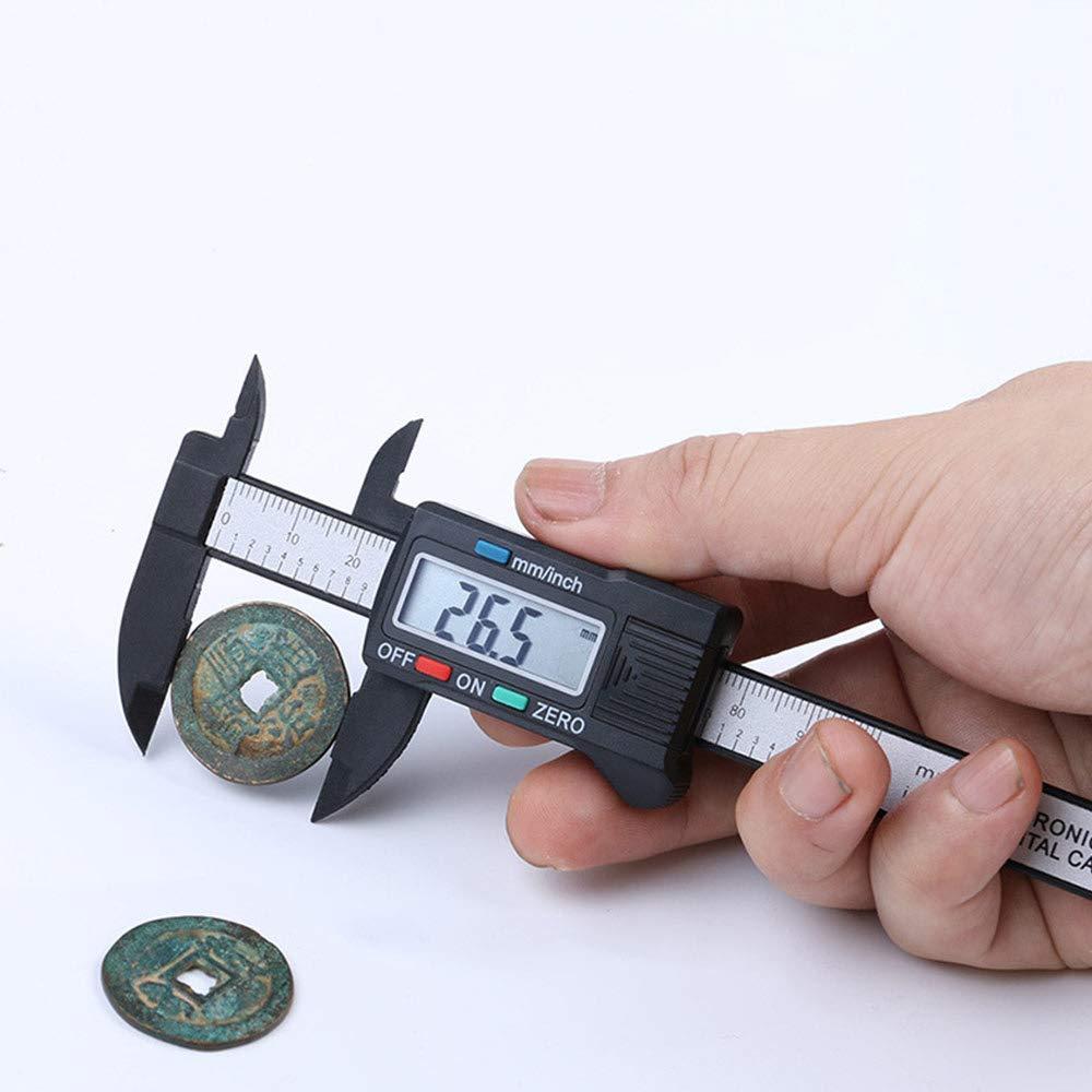 6 Zoll Pr/äzisionsmesswerkzeug Edelstahl Wasserfest Turspit Elektronische Digitale Messschieber mit extra gro/ßem LCD-Bildschirm 150 mm 0-100