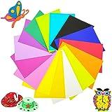 30 PCS 15 Colors EVA Foam Handicraft Sheets,Colorful EVA Foam Sheets,Rainbow Colors Craft Foam Sheets for Arts DIY…