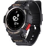 Kivors Relojes Inteligentes Deportivos, IP68 Impermeable Bluetooth Smartwatch Fitness Tracker con Monitor Cardiaco, Múltiples Modos de Deportes, Notificación de Llamada y Mensaje para Android e iOS