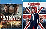 London Has Fallen + Olympus Has Fallen [Blu Ray] Action Bundle DVD Movie 2 Film Set