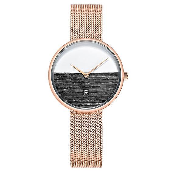 Reloj para mujer impermeable Moda mujer 2018 Nuevo Trend Chain Reloj para mujer: Amazon.es: Relojes