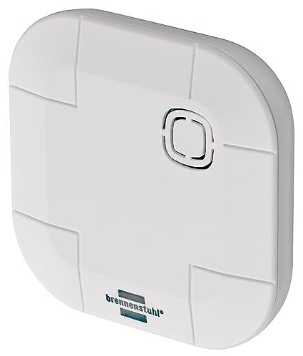 Brennenstuhl 1294210 bremati CPRO Agua Detector/Sensor de Agua por Radio (Smart Home Sensor