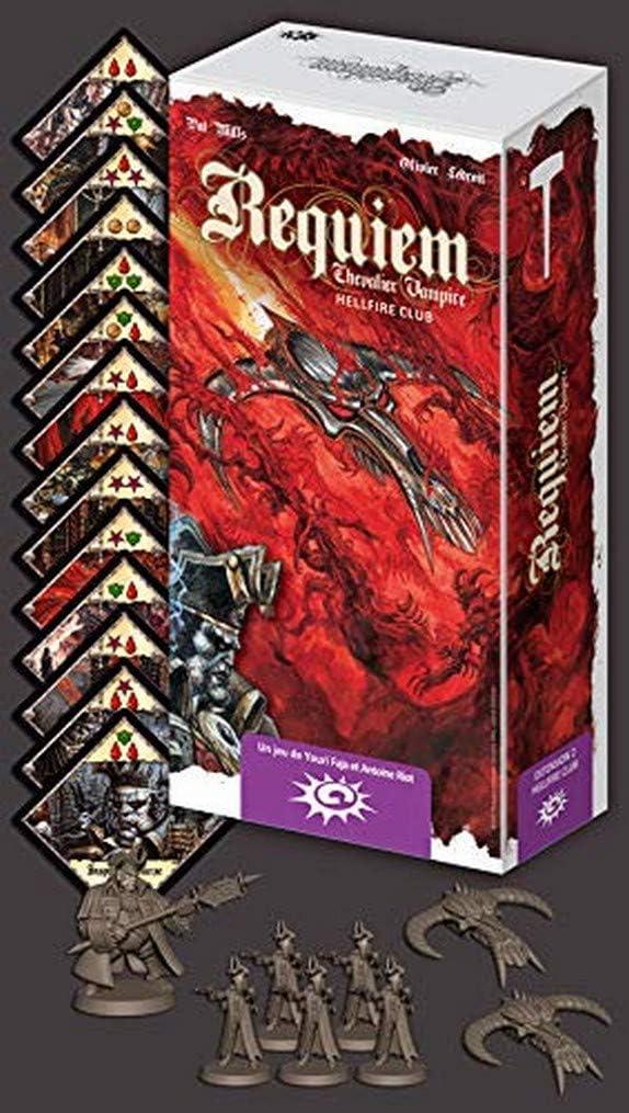 Asmodee- Requiem - Caballero Vampire-Extension 2: Hellfire Club, ASTREQ02, multicolor , color/modelo surtido