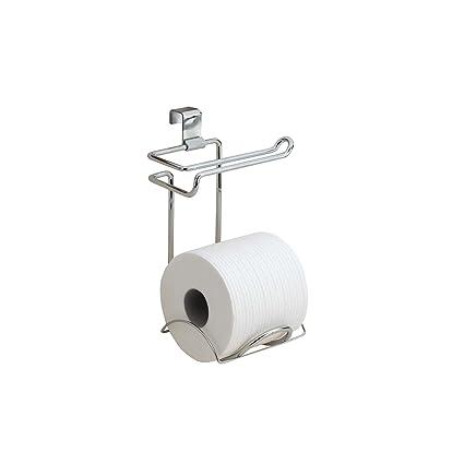 Amazoncom Interdesign Classico Bathroom Over Tank Toilet Paper