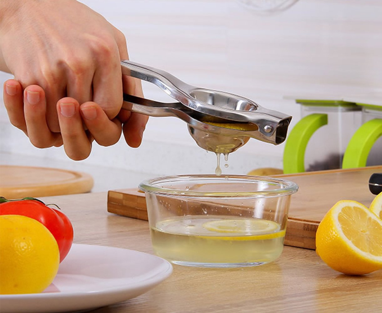 Kitchen Gadgets Gifts Utensil Set, Wine Opener+Lemon Squeezer+Peeler+Garlic Press-4 Piece Stainless Steel Kitchen Utensil Kit With Flannelette Bagsette Bags Kitchen Utensil Set
