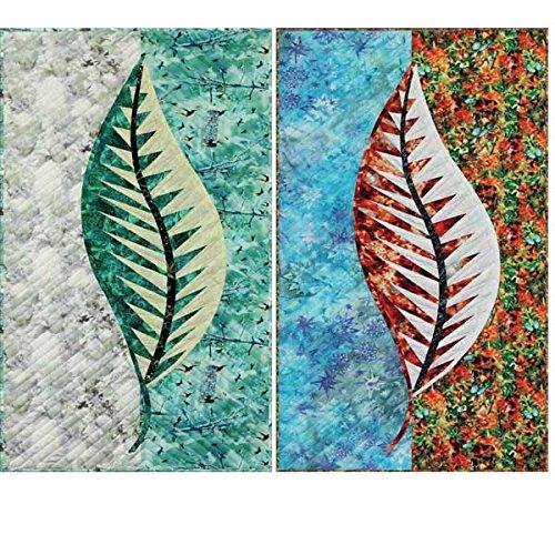 Judy Niemeyer Quilting JNQ156P Leaf Series pattern 20 x 40 Quiltworx