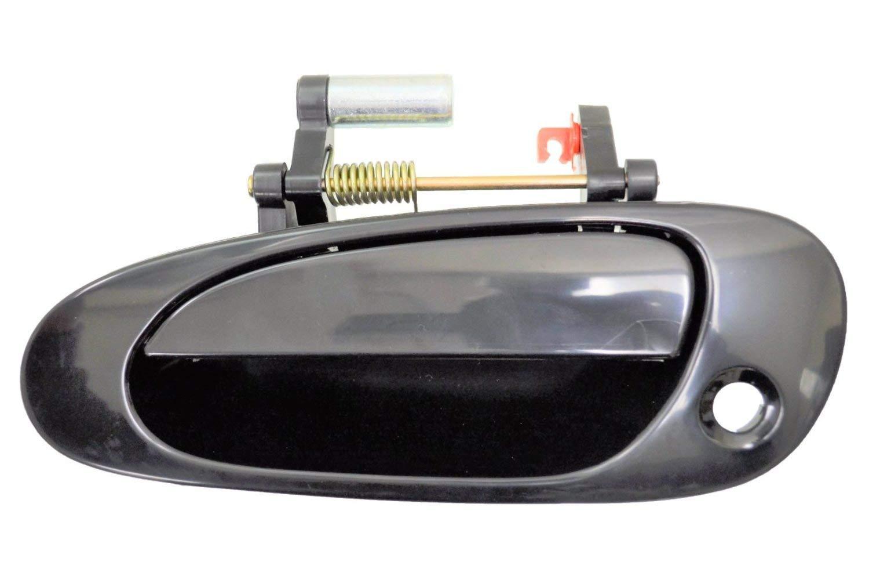 Exterior Outer Outside Door Handle for Hatchback ONLY Primed Black Front Left Driver Side PT Auto Warehouse HO-3600P-FL