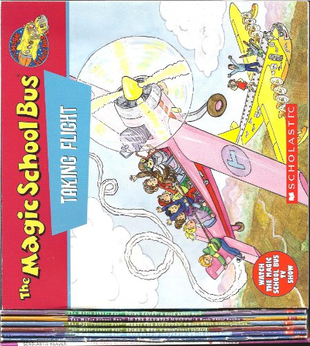The Magic School Bus [8 Paperbacks] (Taking Flight/Going Batty/In the Haunted Museum/Meets the Rot Squad/Spins a Web/Gets Ants in Its Pants/Flies With the Dinosaurs/Looking for Liz)
