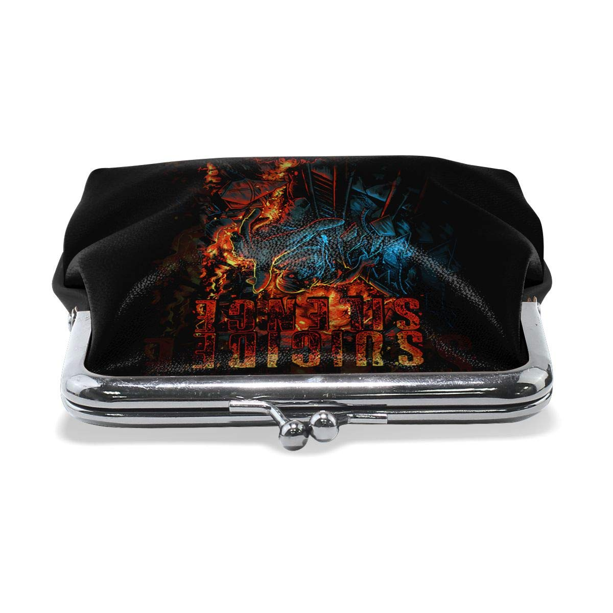 Suicide Silence Coin Purse Pouch Kiss-lock Change Purse Wallets