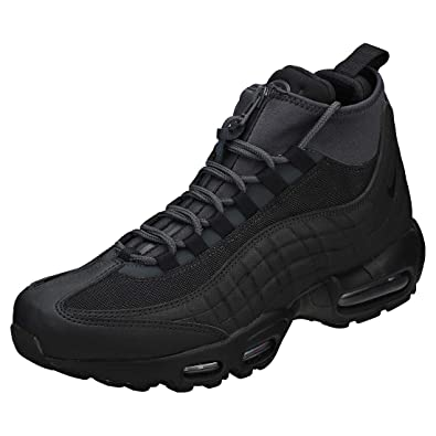 save off 22319 27246 Nike Air Max 95 Sneakerboot, Chaussures de Randonnée Hautes Homme, Noir  Black Anthracite