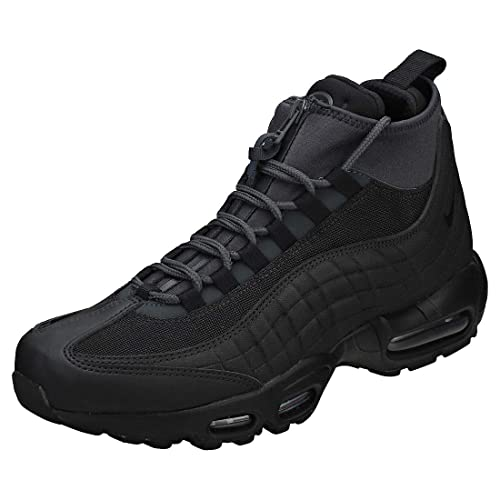 uk availability cdade d4fe9 Nike Men s s Air Max 95 Sneakerboot High Rise Hiking Boots Schwarz Black  Anthracite White
