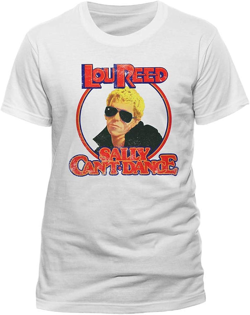 Lou Reed Sally Cant Dance Velvet Underground Oficial Camiseta para Hombre