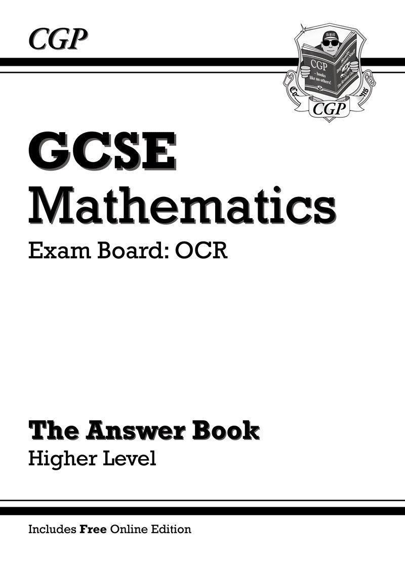 GCSE Maths OCR Answers for Workbook with online edition