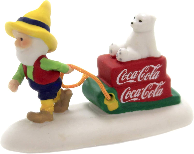 Department 56 North Pole Coca-Cola Bottle Caps Cap Tester /& Cap Ride