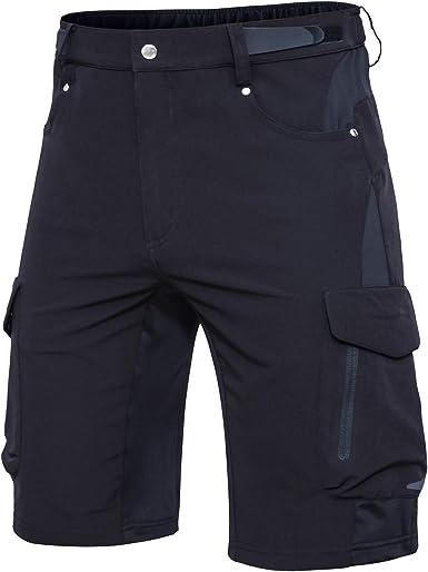 Hiauspor Mens Mountain Bike Shorts MTB Shorts