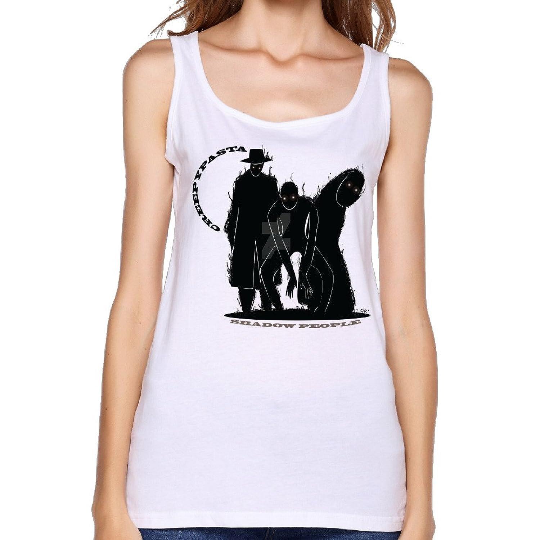 Women's Creepypasta Shadow People Logo Tank Top-