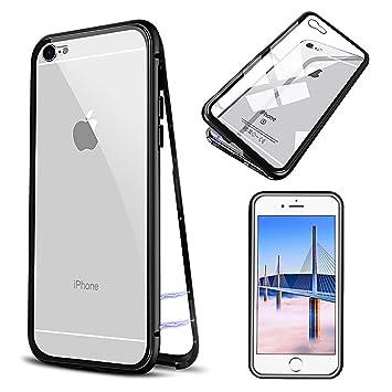 Funda iPhone 6 , E-lush Carcasa iPhone 6S Cristal Templado ...