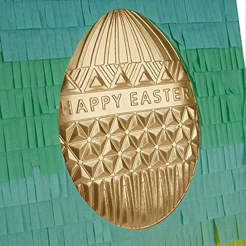 Hallmark Signature Easter Greeting Card (Gold Easter Egg) Photo #6