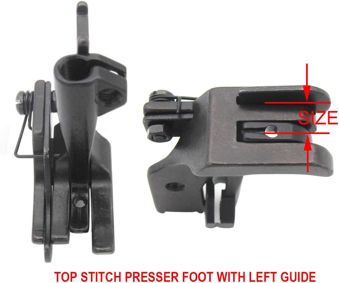 KUNPENG 8SET #KP-WF8 Walking Presser Feet fit for JUKI CONSEW SINGER BROTHER WALKING FOOT INDUSTRIAL SEWING MACHINE