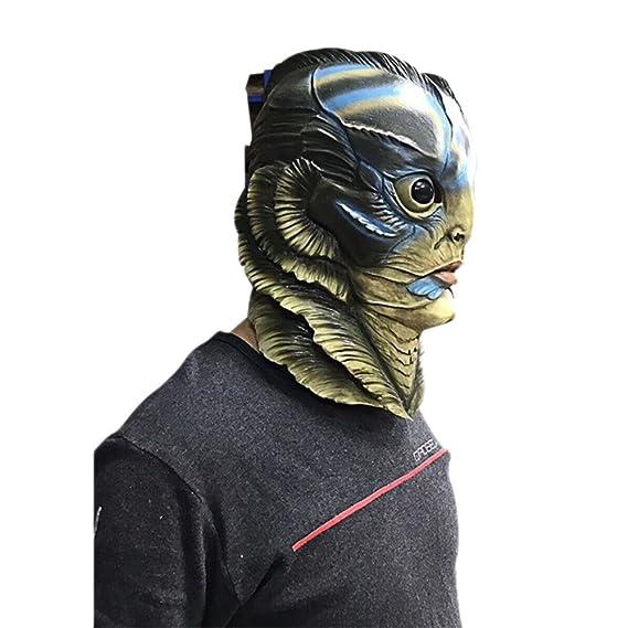 QXMEI Cosplay Máscara De Historia con Forma De Agua Accesorios para Anfibios  De Halloween 1ff2a4fa96ae