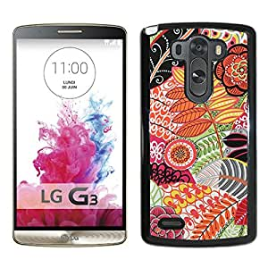 LG G3 Sakroots(1) Black Screen Cellphone Case Unique and Fashion Design