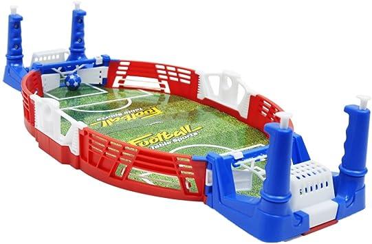 non-brand Juego de Mesa Mini Set de Fútbol Realista Juego Interior ...