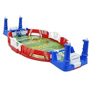 Magideal Juego De Mesa Mini Set De Futbol Realista Juego Interior Y