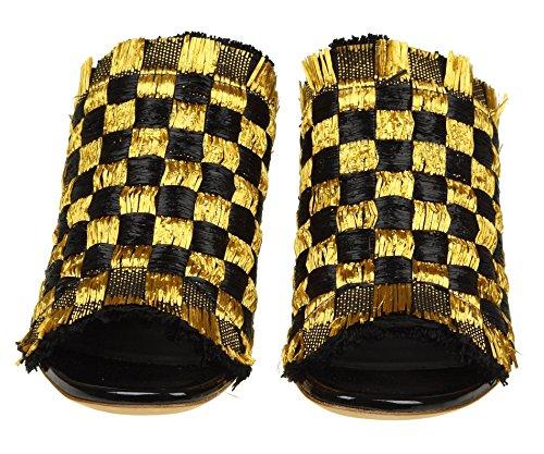PROENZA SCHOULER Sandalias de Vestir Para Mujer Amarillo/Negro It - Marke Größe
