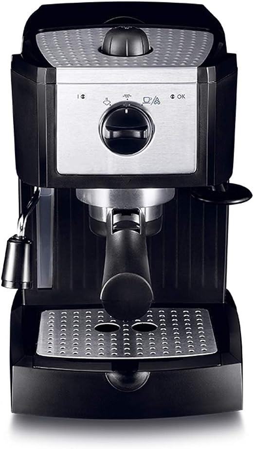 LTLWSH Cafetera Espresso 15 Bares, Cafetera Cappuccino y Latte 1100W Boquilla de Espuma de Leche Profesional 1L Tanque de Agua Calentamiento Rápido: Amazon.es: Hogar