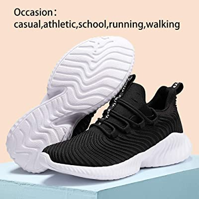 KIDS BOYS GIRLS TRAINERS RUNNING SPORTS SCHOOL GYM OUTDOOR LIGHT CASUAL SNEAKERS