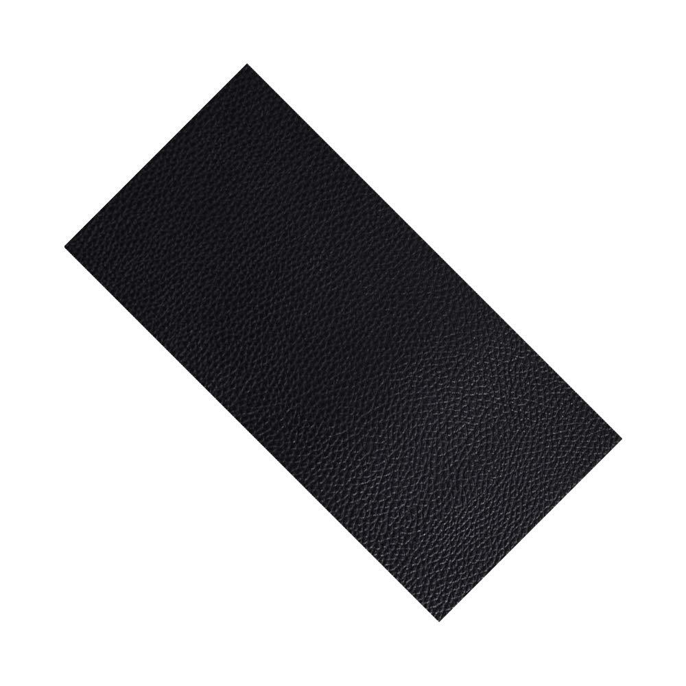 Asientos de Coche 10 Parches de Piel para reparaci/ón de sof/ás Color Negro LANGING Bolsos Chaquetas