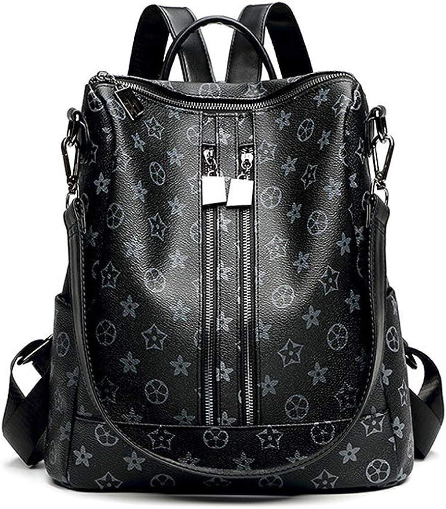 Men Women Genuine Leather Small Shoulder Handbag Classic 5 Zip Bag Casual Purse