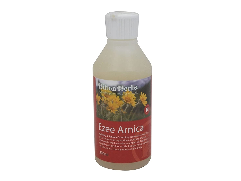 Hilton Herbs Ezee Arnica Lotion Externe pour Coups/Hématome pour Cheval 500 ml - Lot de 2 10804