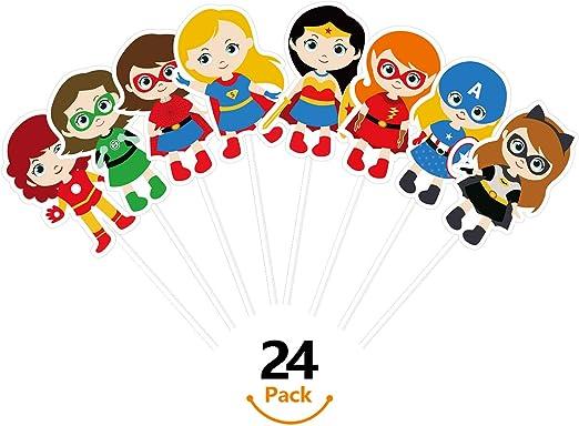 Amazon.com: KUDES 24 piezas de dibujos animados de ...