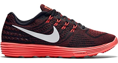 Nike Men's Lunartempo 2 Running Shoes, Red/White/Black/Orange (Unvrsty