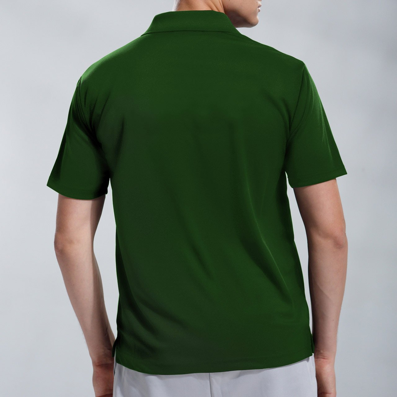 51 ?Green Wundou Boys Sports Dry Light Polo-Shirts P335?130CM