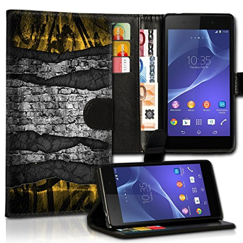 Wallet Book Style Flip Handy Tasche Case Schutz Hülle Schale Motiv Etui für Apple iPhone 6 Plus / 6S Plus - Design Flip MVD68