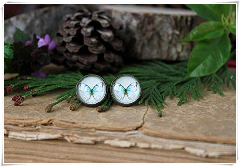 Vintage Butterfly Stud Earrings , Butterfly Jewelry, Butterfly Earrings, Romantic Gift