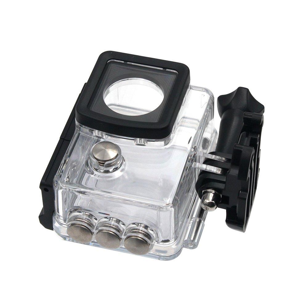 SJCam SJ-WATPR-5000 - Carcasa estanca Original SJCAM Compatible con Modelos de la Serie SJCAM SJ5000, Transparente