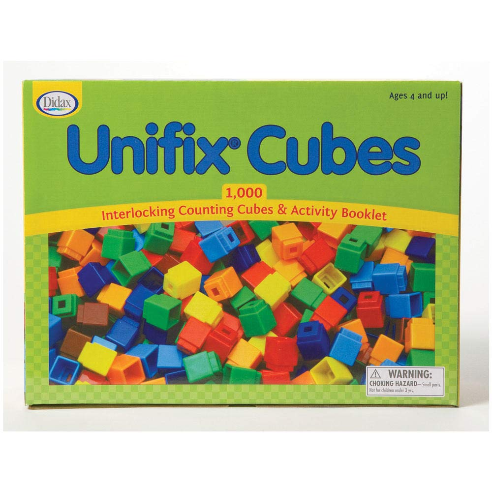 Didax Unifix Cubes, Set of 1000 by Didax